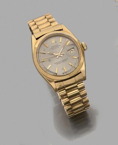 ROLEX OYSTER PERPETUAL DATEJUST. MONTRE d'HOMME...