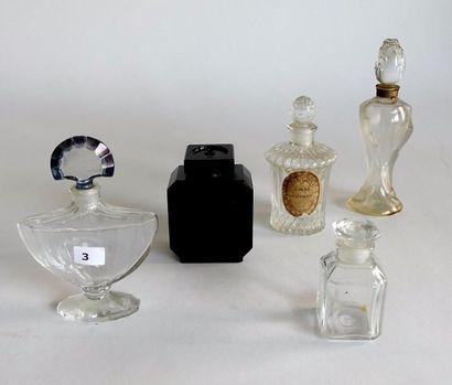 Guerlain -(années 1910-1950) lot comprenant...