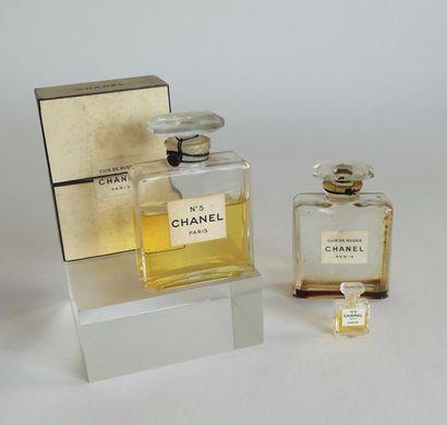 Chanel - (années 1940-1950) 2 flacons en...