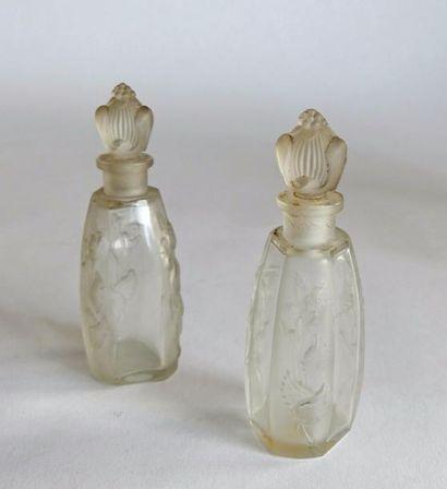Julien Viard (1883-1938) - 2 flacons pour...