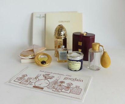 Guerlain - (années 1920-2000) , lot comprenant...