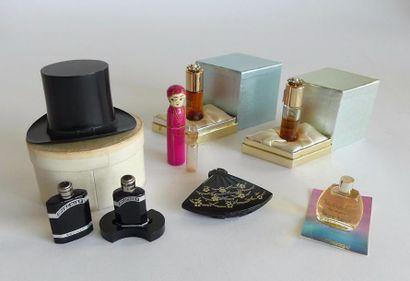 Divers parfumeurs (années 30 et 50). Lot...