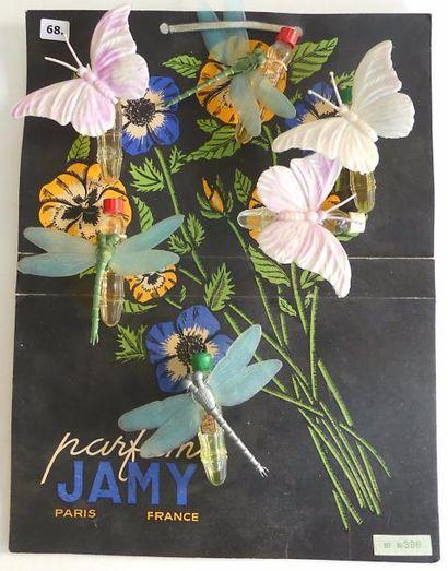 Jamy. (années 50) Planche carton illustrée...
