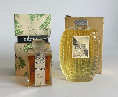 Divers parfumeurs (années 1950). lot comprenant...