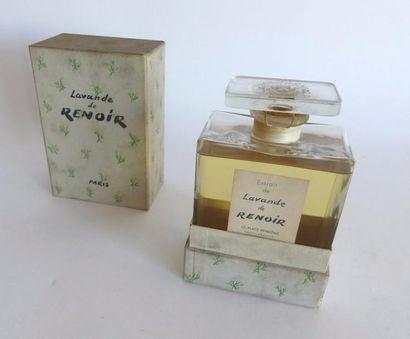 Renoir. Extrait de lavandes, années 1945-1950,...