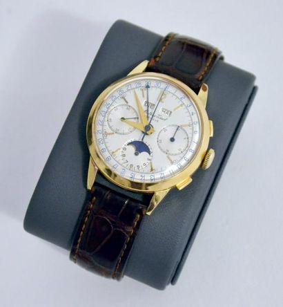 MATHEY-TISSOT, Genève. MONTRE-BRACELET chronographe...