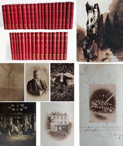 Victor HUGO. 1802-1885. Ecrivain poète. Œuvres complètes (…). Nouvelle édition ornée...