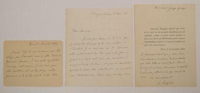 BERGSON (Henri) philosophe français (1859-1941)...