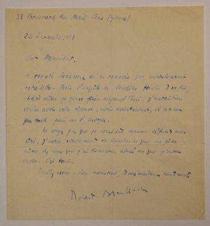 BRASILLACH (Robert) écrivain français (1909-1945)...
