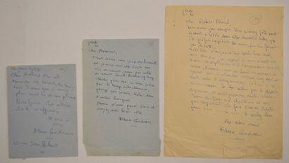 CENDRARS (Blaise) écrivain et poète suisse...