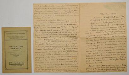 CLAUDEL (Paul) écrivain et diplomate français...