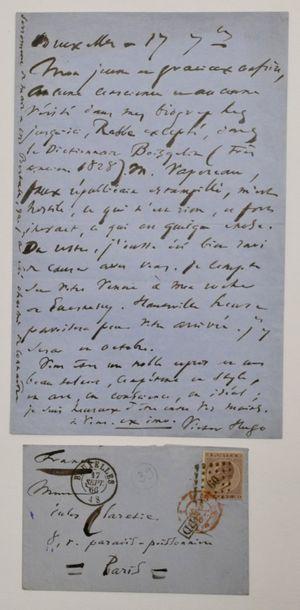 HUGO (Victor) poète français (1802-1885)...