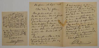 JAMMES (Francis) poète et romancier français...