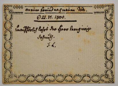LAVATER (Johann Caspar) théologien, poète...