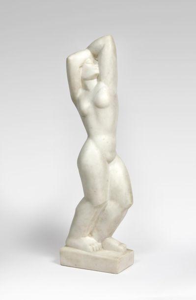 Bela VÖRÖS (1899-1983) « Femme aux bras...