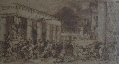 Attribué à Louis Boulanger (1806-1867) La...