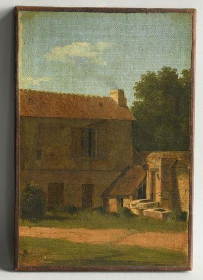 Ecole FRANCAISE du XIXe, suiveur de BERTIN. Cour...