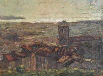 Joseph Victor COMMUNAL (1876-1962) Hyères,...