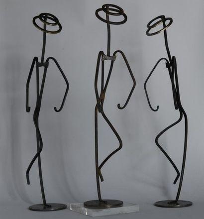 Charles KIFFER (1902-1992). Ensemble de trois...