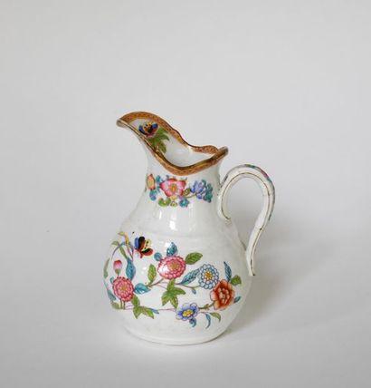 *Minton. Pot à lait en porcelaine anglaise...