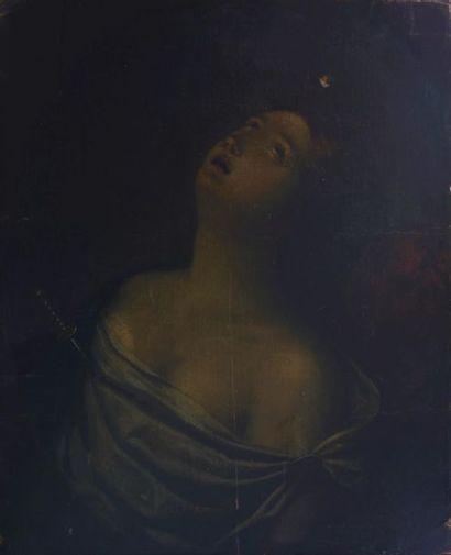 Ecole Bolonaise XVIIe, suiveur de Guido Reni....