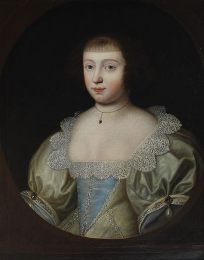 Ecole anglaise vers 1640, entourage de Gilbert...