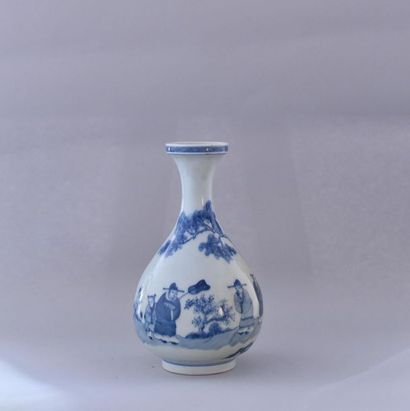 Chine, XXème siècle. Vase Yuhuchunping en...