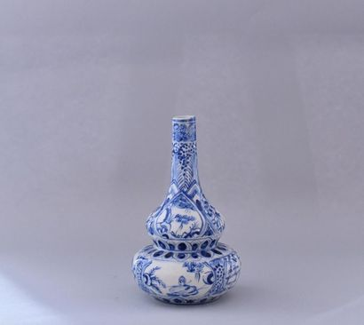 Chine, XXème siècle. Vase double gourde en...