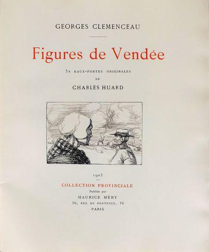 CLEMENCEAU (G.). Figures de Vendée. Paris,...