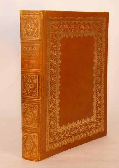 STRADIVARIUS – HILL (E.H.). Antoine Stradivarius,...