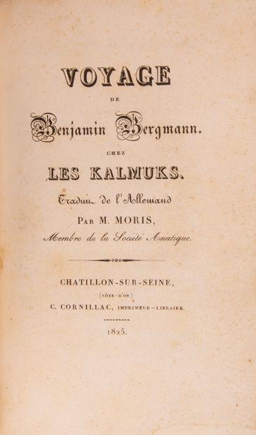 BERGMANN (Benjamin). Voyage de Benjamin Bergmann...