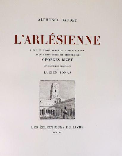 DAUDET (A.). L'arlésienne. Paris, les Eclectiques...