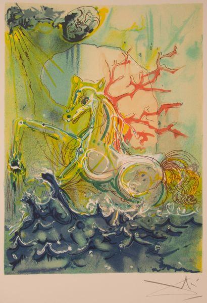 DALI (Salvador). Les Chevaux de Dali. Textes...