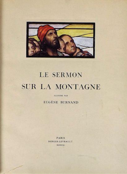 [BURNAND (E.)]. Le sermon sur la montagne....