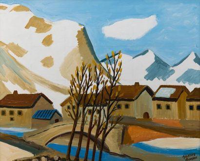 James BANSAC (né en 1924). Le Fornet, Val...