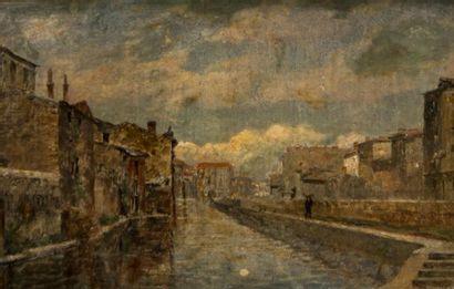 Charles Joseph BEAUVERIE (1839-1924). Promeneur...