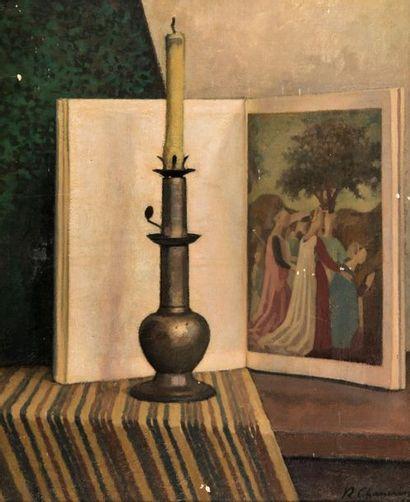 René CHANCRIN (1911-1981). Nature morte au...