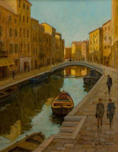 Roberto D'AMBROSIO (né en 1947). Venise,...