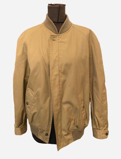 BURBERRY'S. Veste Bomber beige, intérieur...
