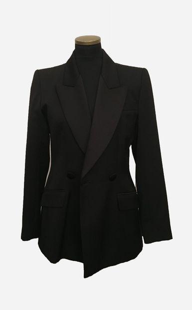 YVES SAINT LAURENT. Variation. Veste blazer...