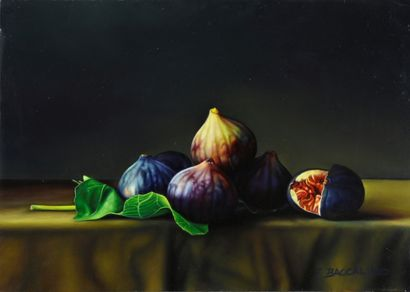 BACCALINO Frédéric (born in 1962). Figs and...