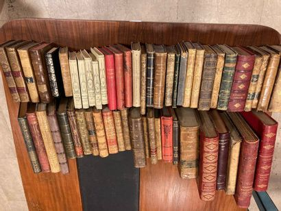 Lot of 55 19th century volumes including...