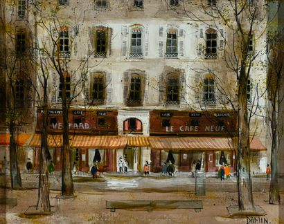 DAMIN Georges (born in 1942). Lyon, Place...