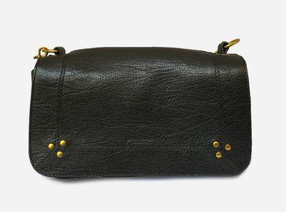 JEROME DREYFUSS. Bobi bag in black goat leather...