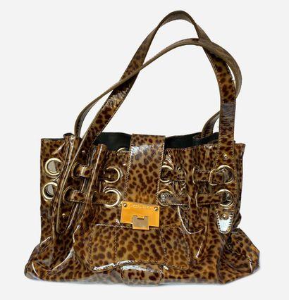 JIMMY CHOO. Ramona bag in patent leather...