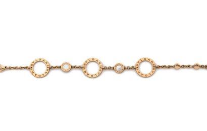 BULGARI. Gold bracelet