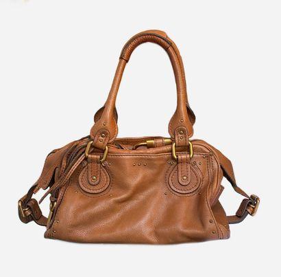 CHLOE. Paddington bag in camel leather,...