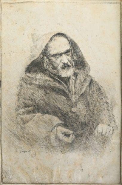 GUIGUET François (1860-1937). Portrait de...