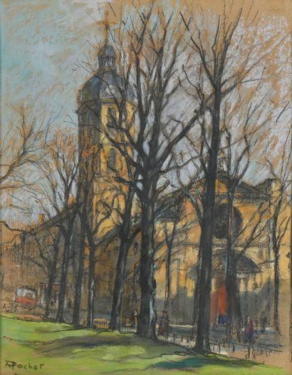 POCHET Antoine (1887-1975). Lyon, l'Église...