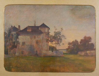 REIGNIER Claude-Marie (1870-1954). Le Château...